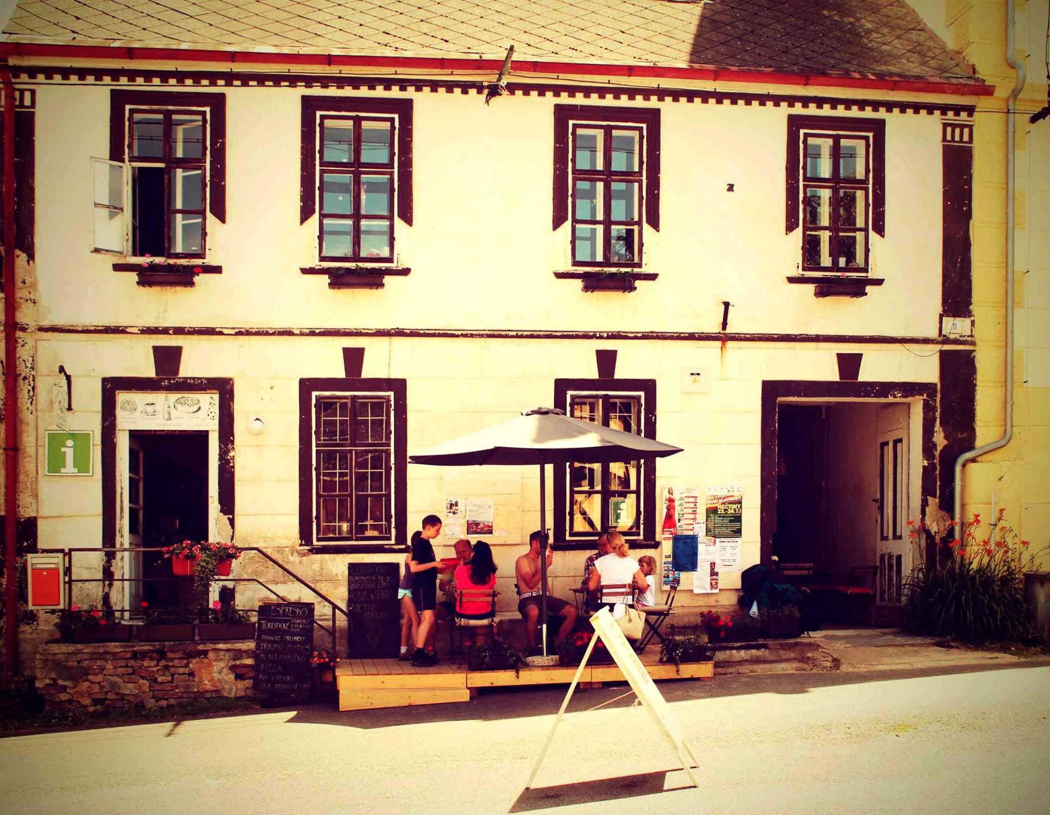 Info Café Četnická stanice