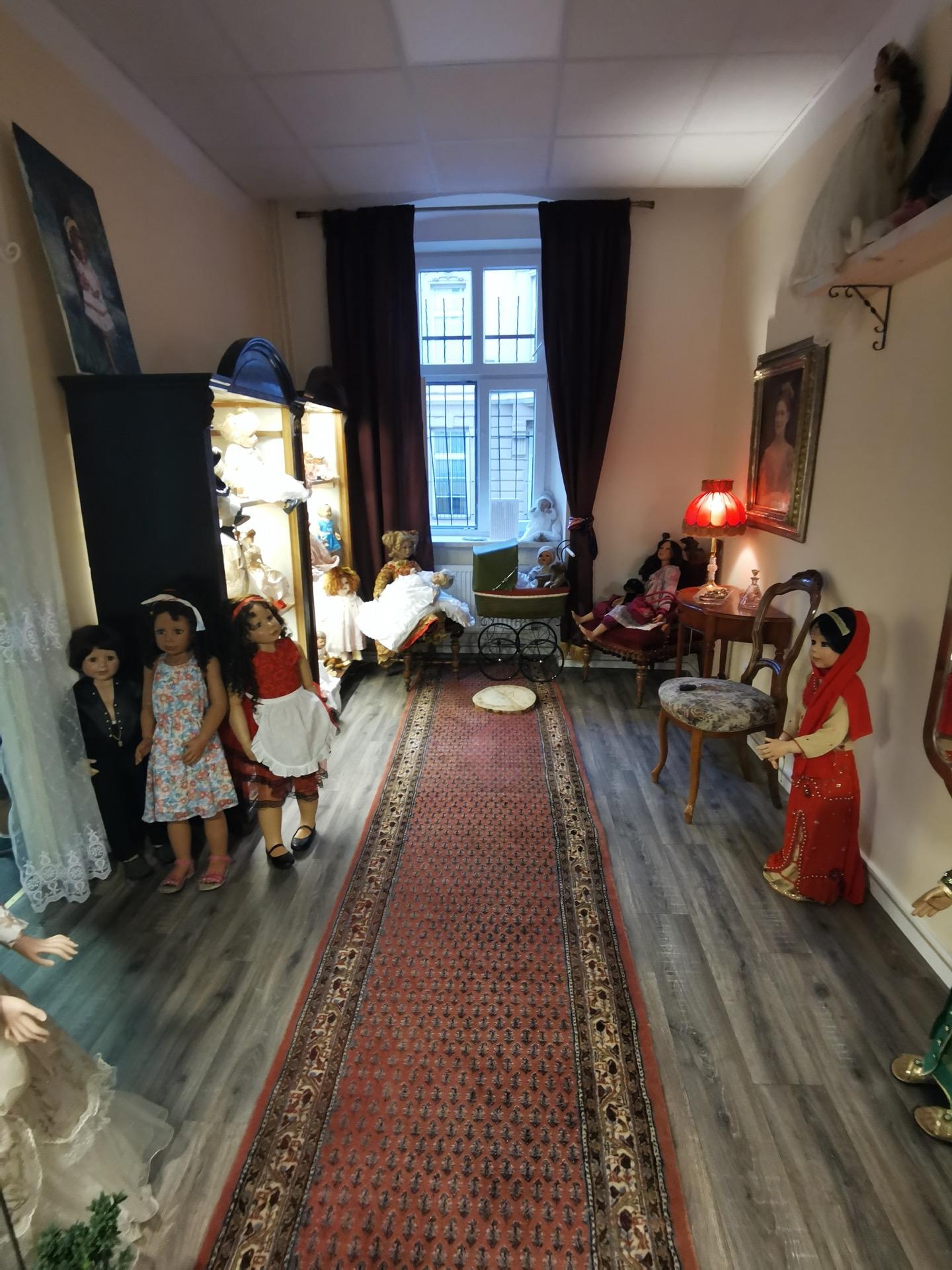 Atelier a muzeum panenek